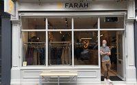 Farah upsizes in Seven Dials