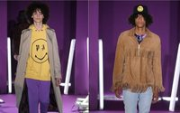 Smiley links with Palm Angels for apparel