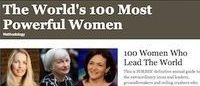「世界で最もパワフルな女性100人」ファッション業界人トップはアナ・ウィンター