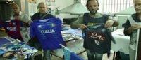 Napoli: maglie da calcio contraffatte, sequestrato opificio