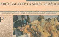 Portugal cose a moda espanhola