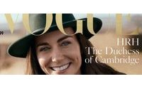 UK royal Kate appears on cover of Vogue's 100th anniversary edition
