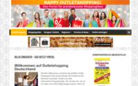 Outletshopping Deutschland mit neuem Portal für Schnäppchenjäger