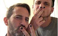"""Marc Jacobs, précurseur du """"male polish"""", le vernis à ongles au masculin"""