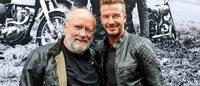 David Beckham: testimonial e creatore per Belstaff