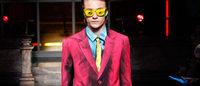 London Collections Men: l'uomo di Moschino diventa un'opera d'arte