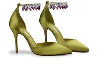 Manolo Blahnik и Bvlgari совместно создали туфли для выставки The Art of Shoes