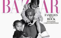 В спецвыпуске Icons от Harper's Bazaar снялись Канье Уэст и Кристина Агилера с детьми