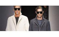 Armani handbags, androgyny and glitter hit Milan catwalk for men