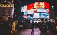 Hunter and McCartney sign Piccadilly Lights ad deals