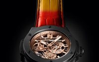 Hublot reveals new 'Big Bang' wristwatch in the colors of Nicky Jam