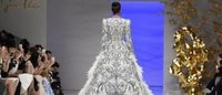 Sumptuous gowns close Paris haute couture fashion week