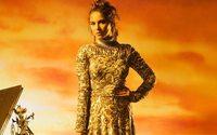 Tadashi Shoji picks sparkly metallics at virtual New York fashion week