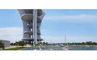 Венеция: гигантская башня Пьера Кардена вызывает споры общественности