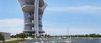 La tour géante de Pierre Cardin à Venise prend l'eau