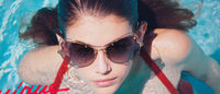 Kaia Gerber takes a dip for major Miu Miu campaign