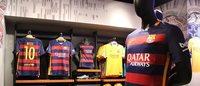 El Barça y Nike abren una nueva tienda en el Casino de Barcelona