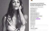 Kim Kardashian apresenta a sua nova fragrância