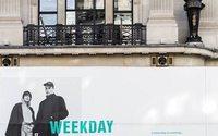 Weekday implante sa première boutique au Royaume-Uni
