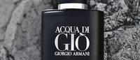 Giorgio Armani revela faceta masculina e profunda do Acqua di Gio