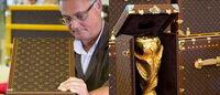 Louis Vuitton继续为世界杯奖杯大力神杯制造外包装箱体