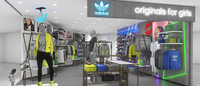 アディダス オリジナルスが初の女性専用店 Shibuya109に出店
