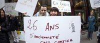 Fin de la grève chez Cartier