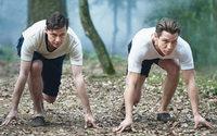 Von Rivalität keine Spur: Chefs von Adidas und Puma beim gemeinsamen Plausch