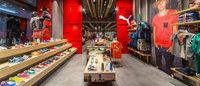 Puma riapre lo store di via del Corso con nuovo design sostenibile