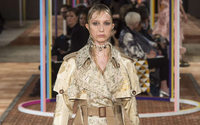 Alexander McQueen's worn and torn chic