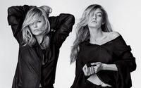 Gigi Hadid e Kate Moss fotografadas juntas pela primeira vez em campanha da Stuart Weitzman