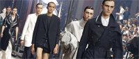 Mode masculine: les défilés clos par Lanvin et Saint Laurent