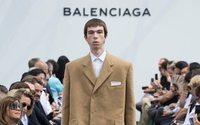 """Balenciaga apuesta por una """"nueva silueta de sastrería"""" para hombre"""