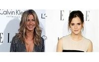 Jennifer Aniston y Emma Watson deslumbran en los Premios Elle 'Women in Hollywood'