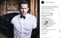 Ryan Reynoldsnamed new faceof Armani Code
