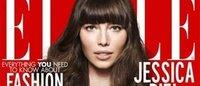 La revista Elle inaugura el año con Jessica Biel