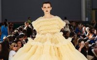 With frills and tulle, volume reigns at Molly Goddard fashion show