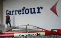 Retailer Carrefour's first-quarter sales growth slows, shares fall