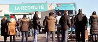 La Redoute: site industriel bloqué par des salariés, la direction refuse de négocier