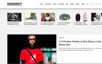 Highsnobiety geht mit Webshop an den Start