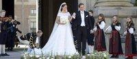 Svezia: La principessa Madeleine sposa in Valentino Garavani
