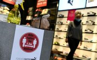 German retail sales fall far less than expected in April