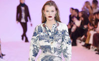 Chloé recalls Karl Lagerfeld in latest show