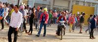 Cambodge : des marques réclament l'arrêt des violences