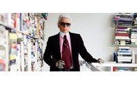 Karl Lagerfeld e sua moderna biblioteca particular