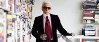 Conheça a moderna biblioteca particular de Karl Lagerfeld