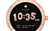 Kate Spade debuts touchscreen smartwatches