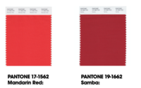 Pantone's LFW colour forecast chooses warmth over power brights