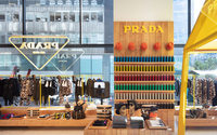 Prada takes up residency in Selfridges Corner Shop, focus on 'world travellers'
