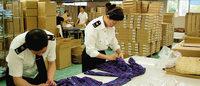 上海销毁12万件不合格进口服装